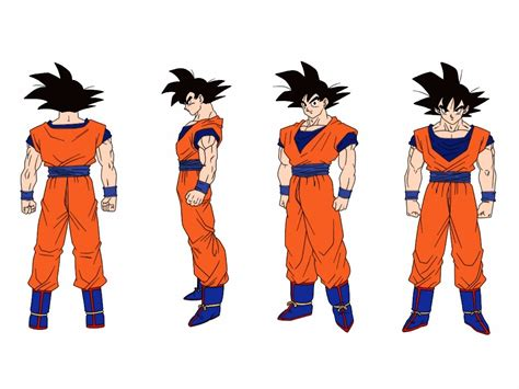 Slimut 3d 18 18 lineart goku colored by delvallejoel on deviantart