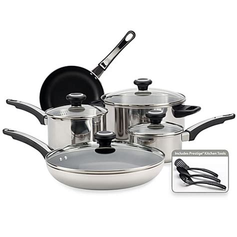 bed bath and beyond wok buy farberware 174 high performance stainless steel 12 piece