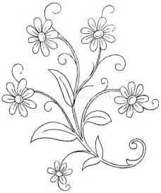 imagenes de flores para pintar en bordado imagui