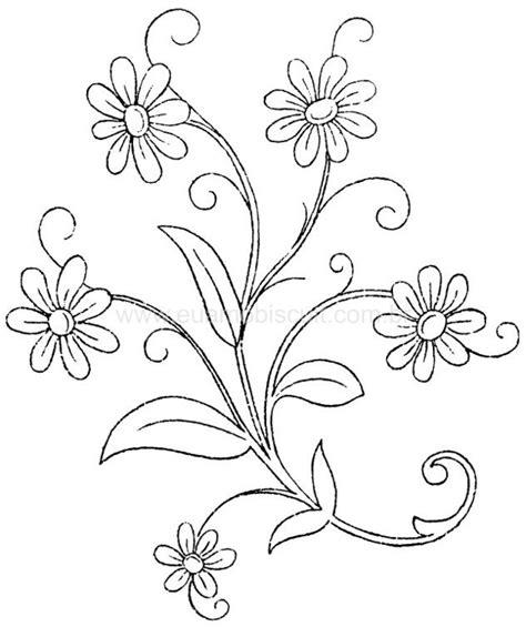 imagenes para dibujar y bordar patrones para bordar flores mano buscar con google