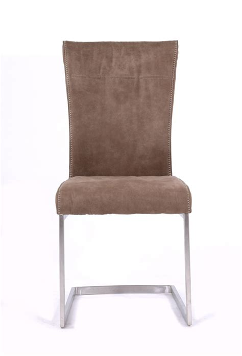 Fabric Chair Dining Set 532 89 Zane Modern Brown Fabric Dining Chair Set Of 2 D2d Furniture