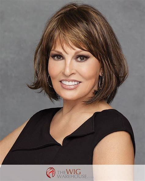 rachael welch bob hair style with side fringe 115 best raquel welch wigs collection images on pinterest