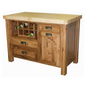 Kitchen Island Block Butcher Block Kitchen Island Casual Cottage
