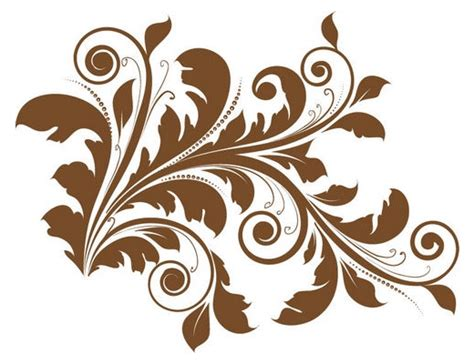 design grafis ornamen floral vector pack
