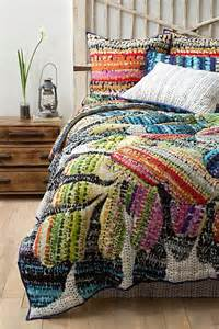 colorful bedding gila quilt i anthropologie