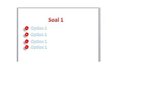 membuat quiz di powerpoint membuat quiz interaktif powerpoint memanfaatkan macro vba