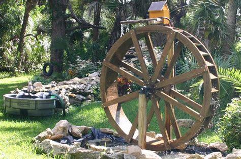 backyard water wheel sullivan water wheels picture gallery 2