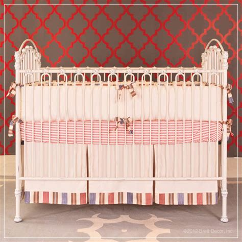 Venetian Heirloom Iron Distressed White Contemporary Distressed Baby Cribs
