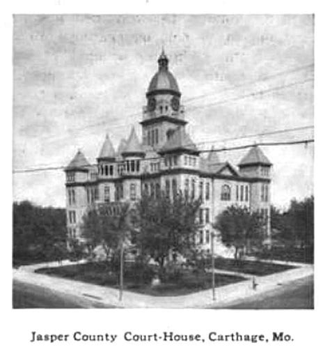 Jasper County Court Records Carthage Mo Courthouse