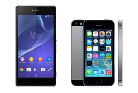 sony xperia wallpaper for iphone 5 sony xperia z2 vs iphone 5s comparison review review