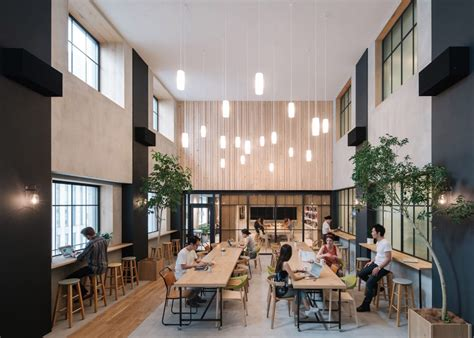 airbnb tokyo station airbnb launches nature filled tokyo office that feels like