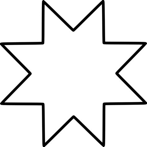 point pattern png best photos of 8 point star template printable eight