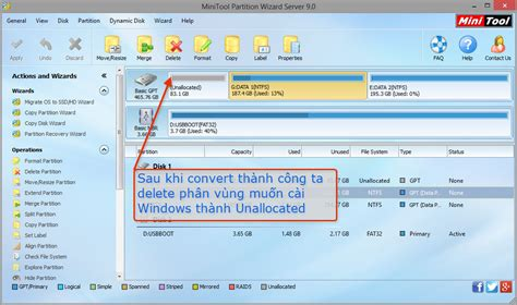 format gpt sang mbr delete ph 226 n v 249 ng c 224 i windows trước khi c 224 i