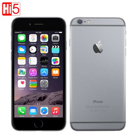 Totu For Iphone 6 Plus Original aliexpress buy original apple iphone 6 6 plus mobile phone dual 64gb 128gb rom ios