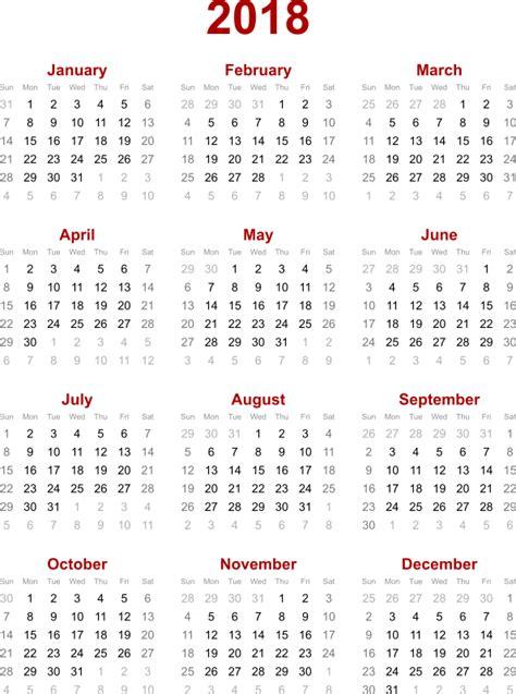Calendrier 2018 Format Pdf 2018 Calendar Pdf Weekly Calendar Template