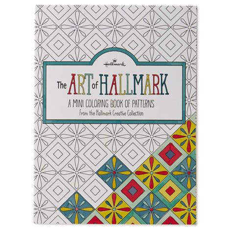 the art book mini 0714867969 hallmark the art of hallmark a mini coloring book of patterns the paper store