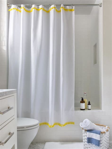how to make bathroom curtains 15 ways to reuse shower curtains