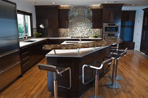 Kitchen Countertop Bar by Breakfast Bar Countertop Kitchen With