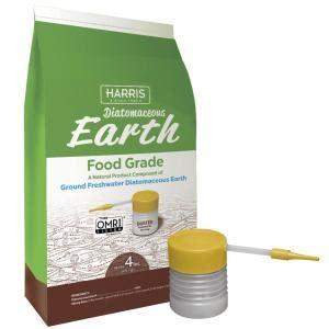 harris 64 oz 4 lb diatomaceous earth food grade 100