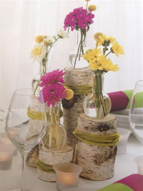 Tischdekoration Hochzeit Holz by Vintage Tischdeko Holz Hochzeit Vintage