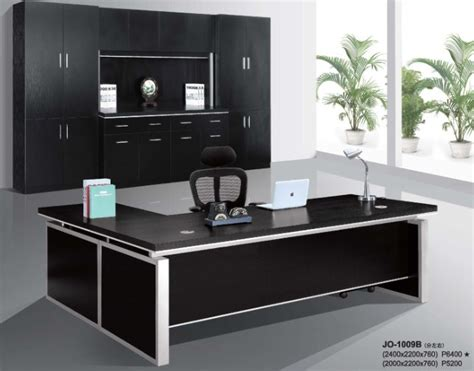 Black Executive Office Desk Modern Hi Class Black Office Executive Table Furniture From Ntuple Furniture Co Ltd B2b