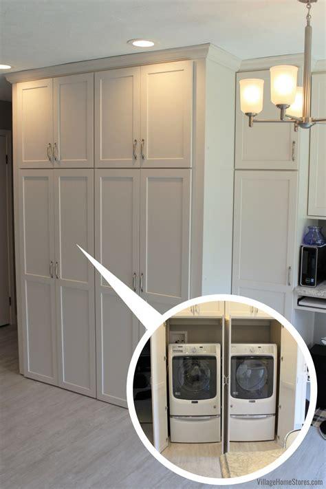 kitchen hidden laundry