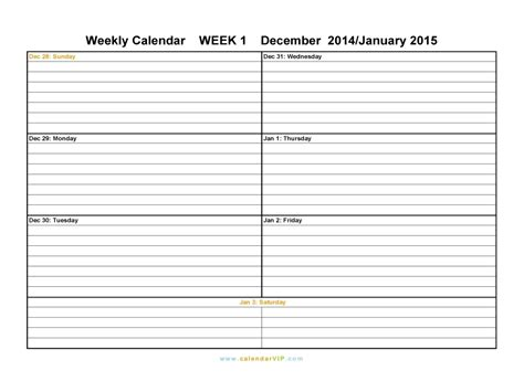 two week calendar printable online calendar templates