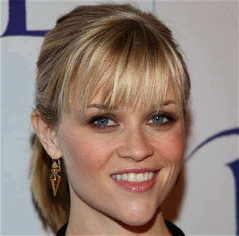 hairstyles with bangs tied up what is the best reese witherspoon s hairstyle poll
