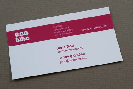 Messenger Card Template by Modern Bike Messenger Business Card Template Inkd
