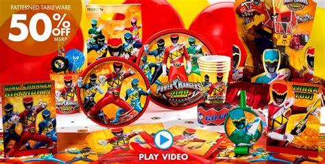 Power Rangers Decorations by Power Rangers Supplies Power Rangers Birthday