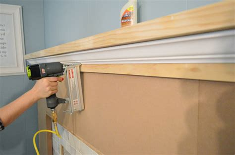 Pictures Of Crown Molding On Kitchen Cabinets our fireplace makeover building a new mantel young