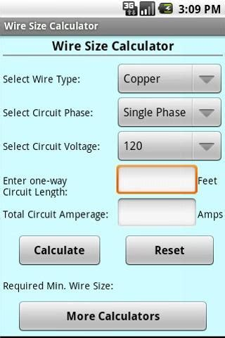 Gauge wire size calculator gauge wire size calculator loading greentooth Choice Image