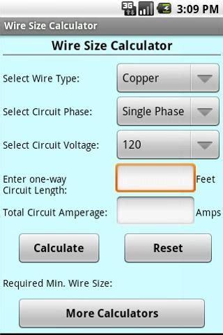 Gauge wire size calculator gauge wire size calculator loading greentooth Gallery