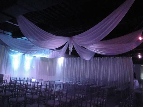 Chiffon Ceiling Draping by W Drapings Florida Ceiling Drapings And Wedding Chiffon
