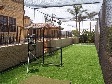 batting cages for backyard plans for backyard batting cage yedwa for gogo papa