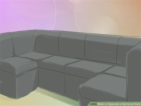 sofas that come apart one with four seating options