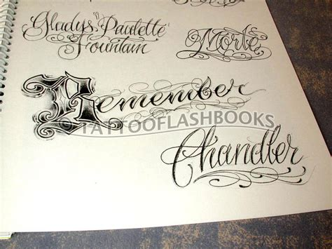 tattoo lettering pdf tattooflashbooks com b j betts tattoo custom