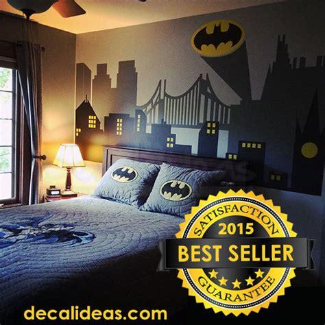 wall stickers city wall decal gotham city wall decal batman sticker
