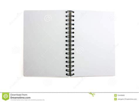 sketchbook pro vector open blank sketchbook stock image image of ring book