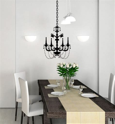 Chandelier Decals Chandeliers On The Wall Wall Decor Source