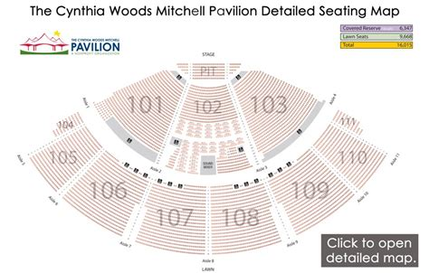 cynthia woods pavilion pit seating cynthia woods mitchell pavilion seating chart the