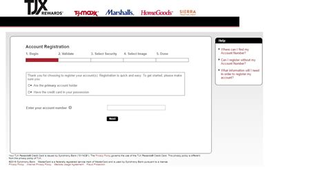 tj maxx credit card make a payment www tjmaxx member login tjx rewards access bill pay