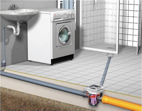 installing basement shower drain basement drain quot the universal quot kessel leading in drainage in india