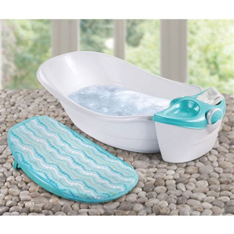 summer infant soothing waters baby bath spa tub white