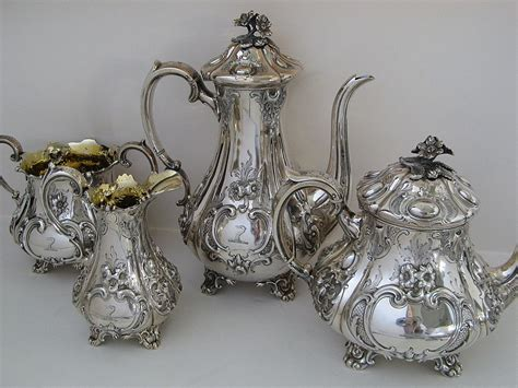 Set Perhiasan Xuping Silver 10 10 antique silver tea set for sale silver tea sets buyers