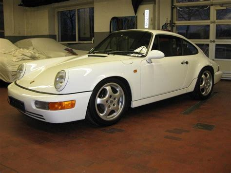 porsche 964 white porsche 911 rs 964 white front revival sports cars