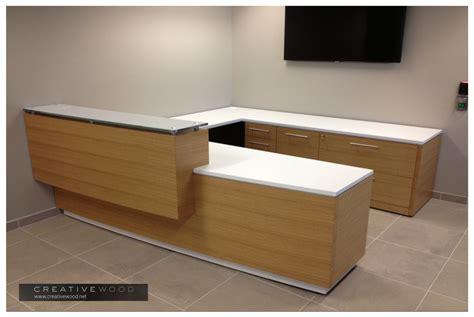 Reception Desk Wood Reception Creative Wood