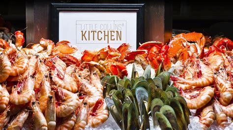 Seafood Brunch Buffet Signature Seafood Buffet Sheraton Melbourne Hotel