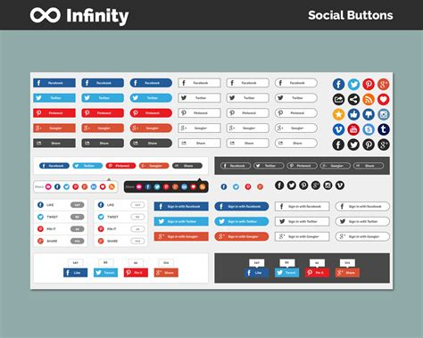 themeforest ui kit infinity ui kit showcase sketch by mygpics themeforest
