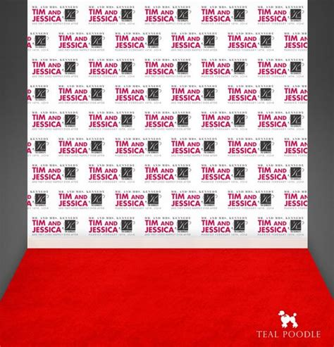 design red carpet backdrop custom wedding step and repeat backdrop for red carpet